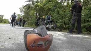 थाईलैंड में धमाका