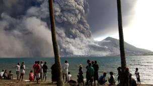 ज्वालामुखी विस्फोट, पापुआ न्यू गिनी