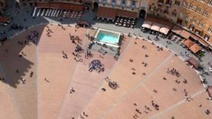 इटली का सिएना शहर