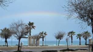 Средиземное море зимой