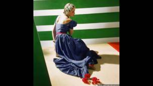 Dress by Hattie Carnegie, 1939. Condé Nast / Horst Estate