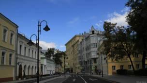 Дом на улице Пятницкой в Москве