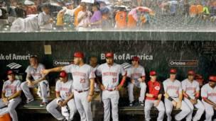 बेसबॉल मैच, बाल्टीमोर, अमरीका