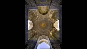 مسجد الإمام، أصفهان سابقا، تصوير محمد رضا دوميري كنجي