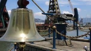 怡和午炮的銅鐘與大炮