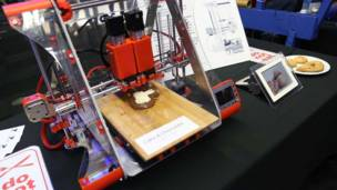 چاپ سه بعدی شکلات