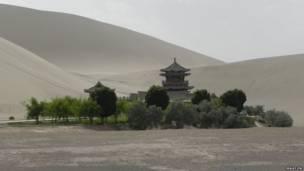 El desierto Gobi, China