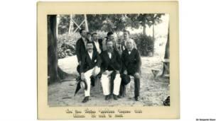 No parque público, Ceará, Sir Benjamin Stone/Biblioteca de Birmingham