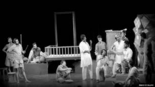 हिंदी नाटक 'आगरा बाज़ार'