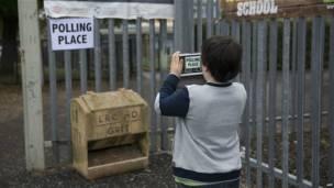 Polling place, Escocia