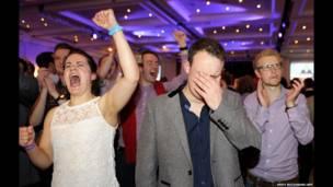 Шотландцы смеются и плачут.
