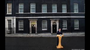 Дэвид Кэмерон дает пресс-конфренцию