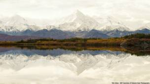 Los picos nevados en Alaska. Imagen de Tim Aiken, cortesía de Nature's Best Photography