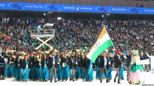 दक्षिण कोरिया, इंचियोन शहर,17वें एशियाई खेल, भारतीय टीम
