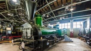 Музей железнодорожного транспорта в Любляне