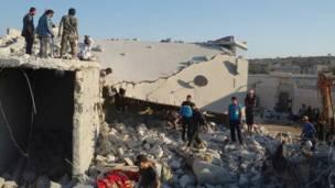 Kerusakan di Suriah