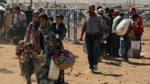 Pengungsi orang Kurdi