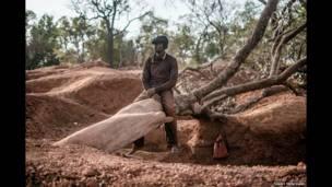 A exploração do ouro na fronteira entre Guiné e Mali