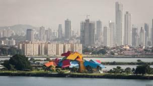 Biomuseo y Ciudad de Panamá