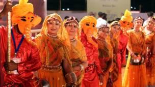 गरबा, गुजरात, भोपाल, भारत
