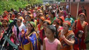 गोरखा जवान, नवरात्रि, रांची, झारखंड