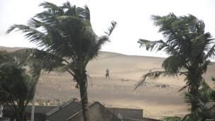 भारत में समुद्री तूफान हुदहुद