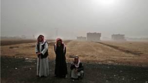 सीरिया में कुर्द शरणार्थी