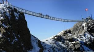 सस्पेंशन ब्रिज, स्विटज़रलैंड