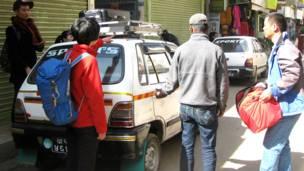 चीनी पर्यटक, काठमांडू