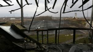 Донецький аеропорт. Sergei L. Loiko for BBC