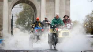लंदन से ब्राइटन कार दौड़