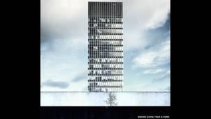 مشهد لجامعة شيفلد، برج الفنون