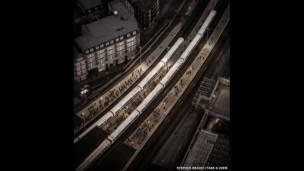 محطة لندن بريدج في لندن بإنجلترا