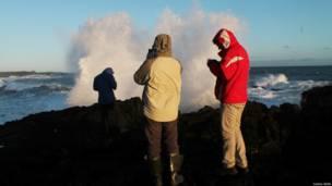 ветер на юге Исландии