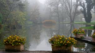 Виктор Вейнблат сделал эту фотографию на курорте Bad Bellingen в Германии.