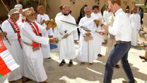 ओमान प्रिंस हैरी