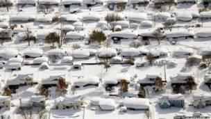 अमरीका में शीत लहर