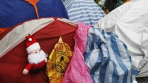 हॉंगकॉंग, क्रिसमस, सांता