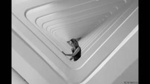 Женщина в здании г. Милуоки, США, Яна Булыжева