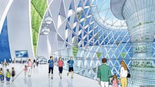 Empresa japonesa cria projeto de cidade no fundo do mar