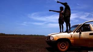 ऑस्ट्रेलिया के मूल निवासी, घड़ियालों के शिकारी