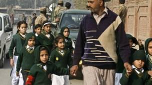 पाकिस्तान, पेशावर, तालिबान, स्कूल, बच्चे