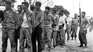 Кубинские контрреволюционеры. 1961 год.