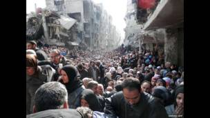 اردوگاه یرموک در سوریه