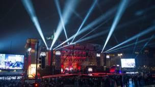 Berlín en año nuevo