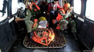 क्यूज़ैड8501 की तलाशी का काम
