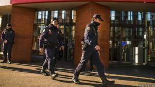 स्पेन के मैड्रिड शहर में बम की अफ़वाह