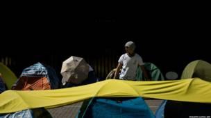 हॉन्गकॉन्ग में लोकतंत्र समर्थक