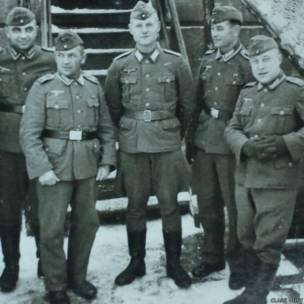 Soldados alemanes. Fotografía: Clare Hunt.