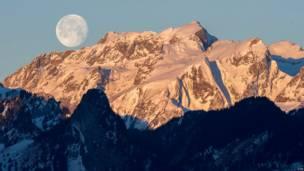 स्विट़ज़रलैंड, आल्पस